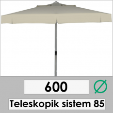 600 DIAMETER TELESCOPIC 85