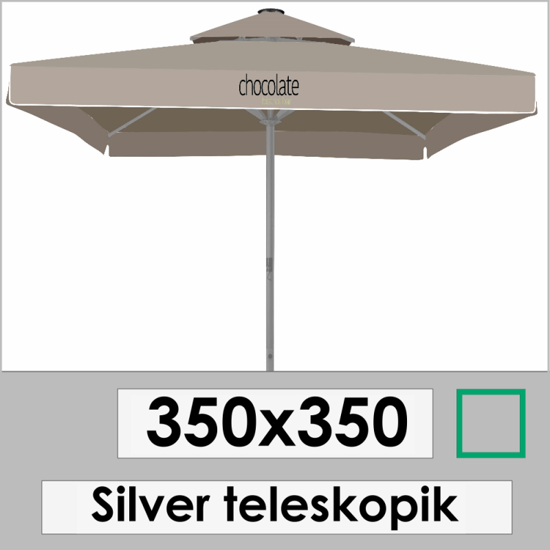 350x350 SILVER TELESKOPIC
