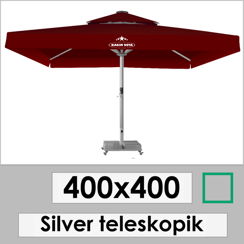 400x400 SILVER TELESKOPIC